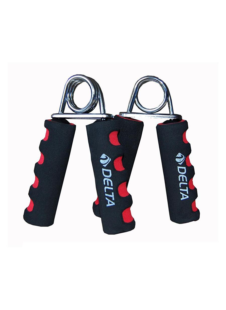 Standart Kadın Kırmızı Deltaspor DS 257 Sünger Tutamaçlı Deluxe Çiftli El Yayı Spor Türleri Fitness Kondisyon Ekipmanları