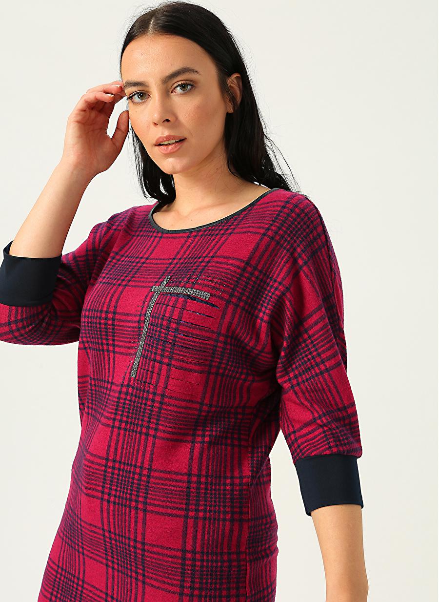 50 Fuşya Selen Bluz Kadın Giyim Gömlek