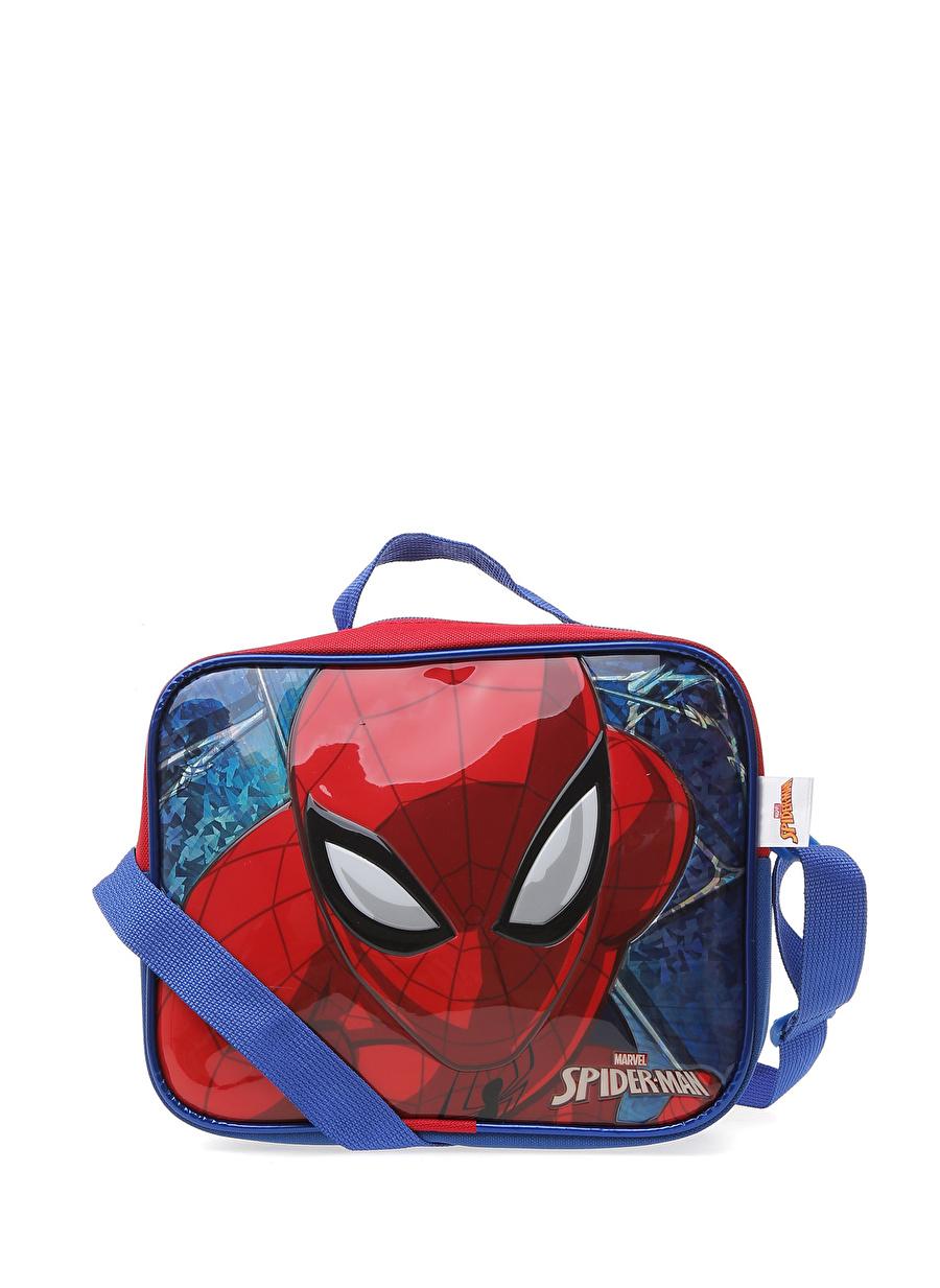 Standart Erkek Lacivert Koton Spiderman Besleme Çantası Çocuk Okul Ürünleri Beslenme