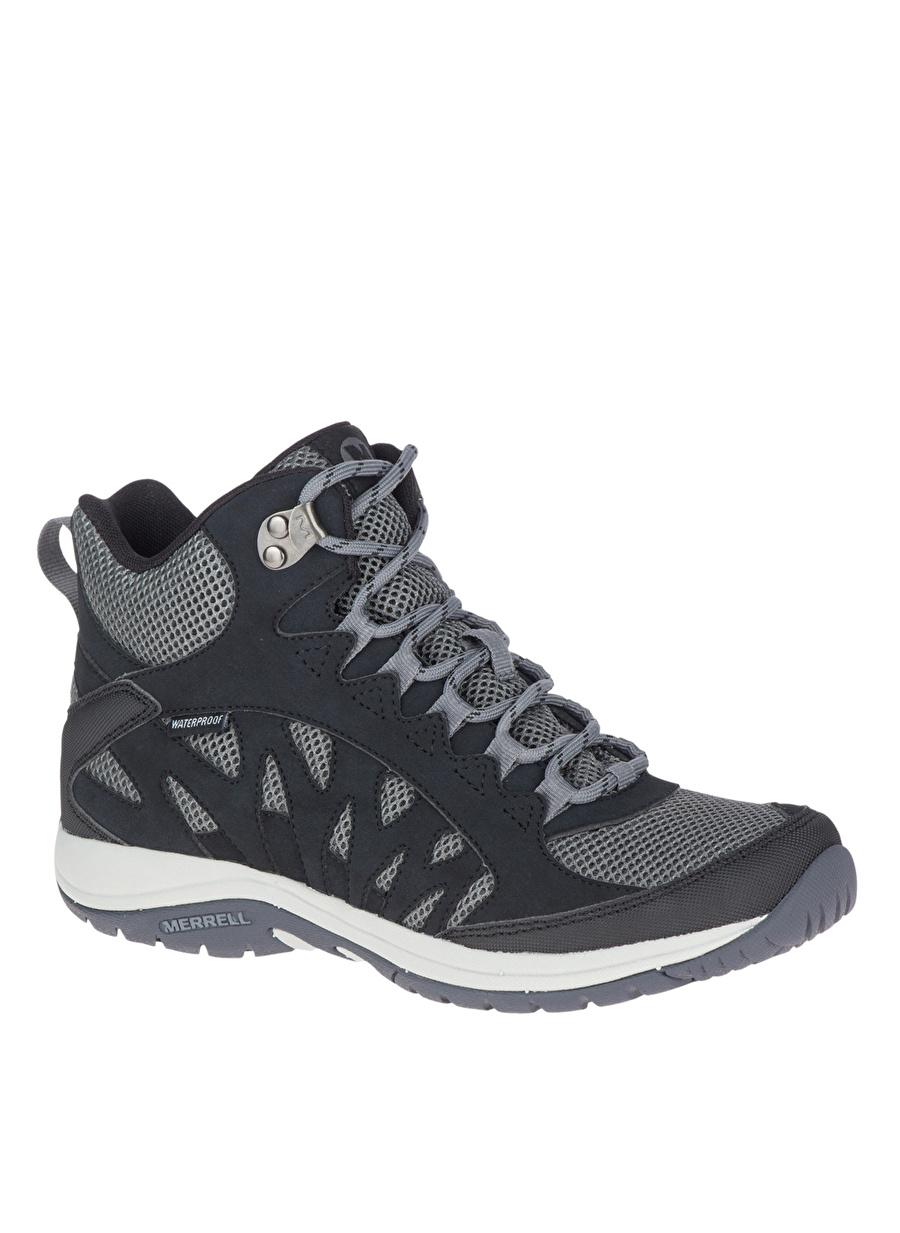 38 Siyah Merrell Simien Mid Waterproof Bot Ayakkabı Çanta Kadın Çizme