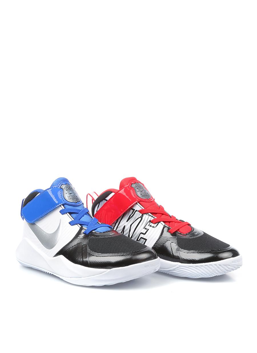33 Erkek Siyah Nike Team Hustle D9 Auto PS Basketbol Ayakkabısı Çanta Çocuk Ayakkabıları