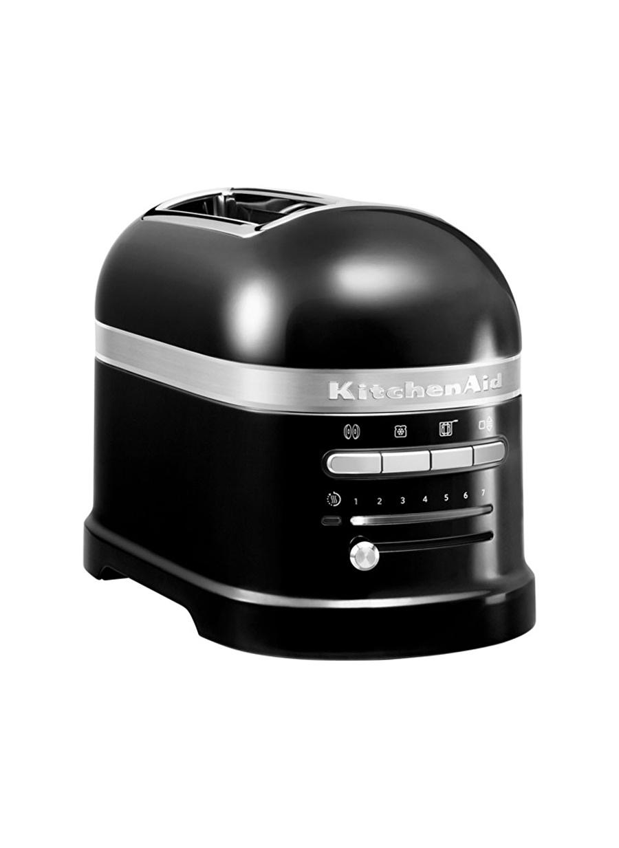 Standart unisex Siyah Kitchen Aid KitchenAid Artisan 2 Dilim Ekmek Kızartma Makinesi 5KMT2204 Onyx Black-EOB Ev Elektrikli Aletleri Küçük