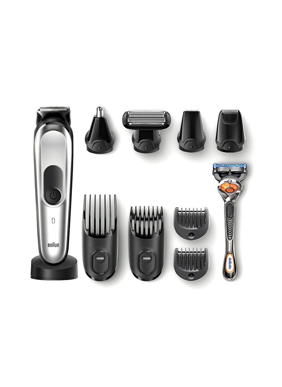 Standart unisex Renksiz Braun MGK 7020 Erkek Bakım Kiti AutoSense Çelik Başlık Kablosuz Islak&Kuru 10in1 Şekillendirici Ev Elektrikli Aletleri Kişisel Ürünleri