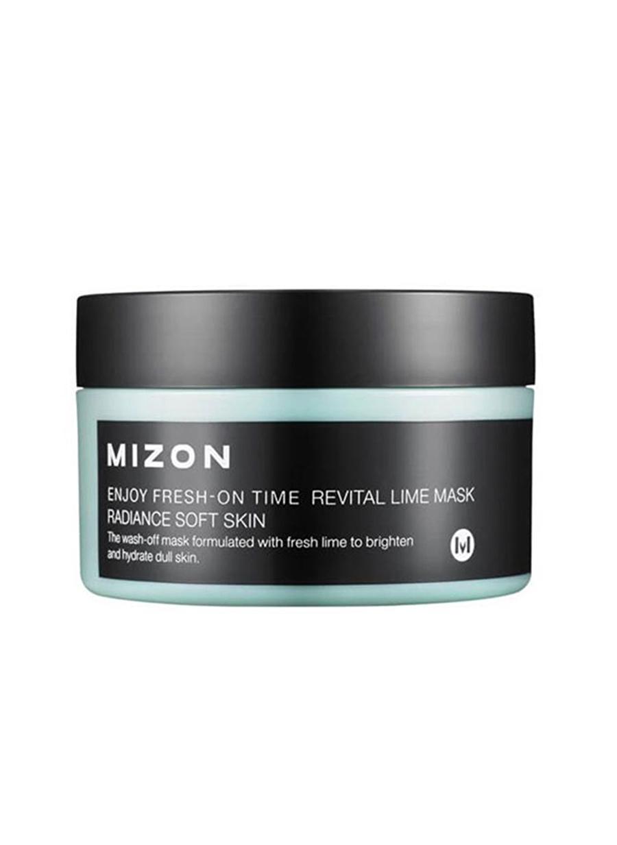 Standart unisex Renksiz Mizon Enjoy Fresh-On Time Revital Lime Mask Limon Ekstreli Canlandırıcı & Işıltı Artırıcı Maske Kozmetik Cilt Bakımı Yüz Maskesi Peeling