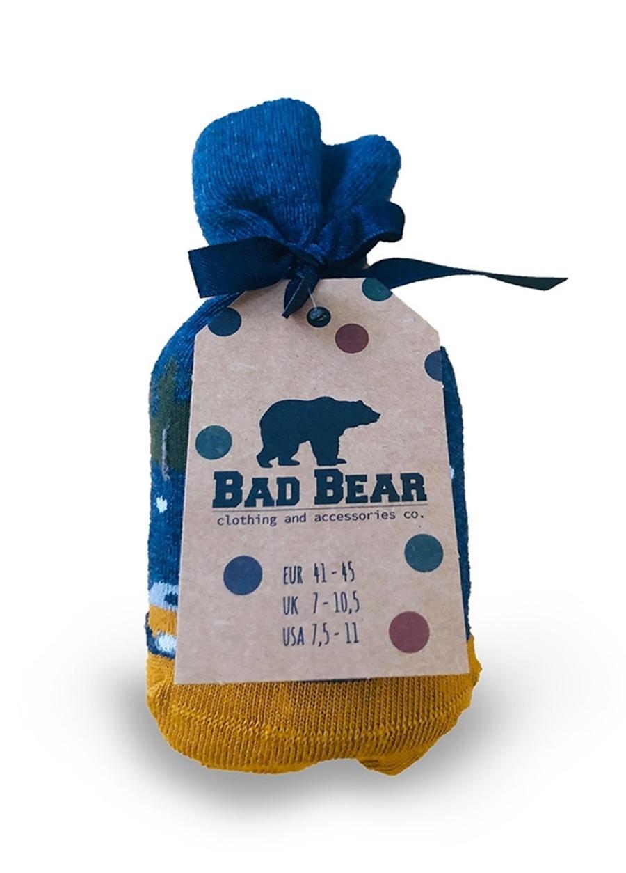 Bad Bear Koyu Yeşil Çorap