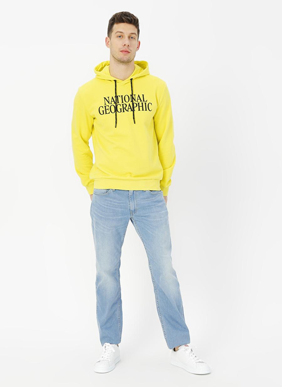 36-32 Açık İndigo Levis 04511-4115 Slim Mango Overt Lig Denim Pantolon Erkek Giyim Jean