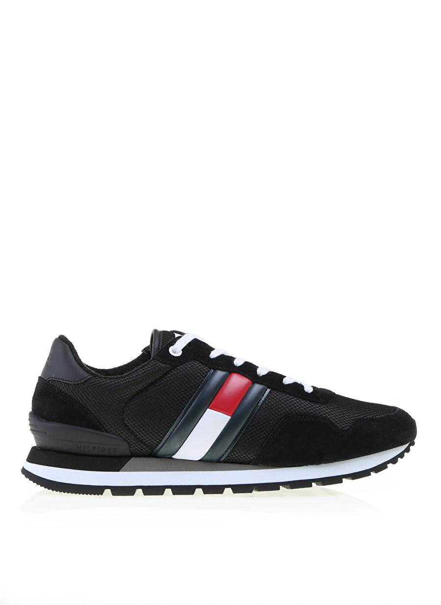 42 Siyah Tommy Hilfiger Casual Sneaker Ayakkabı Çanta Erkek