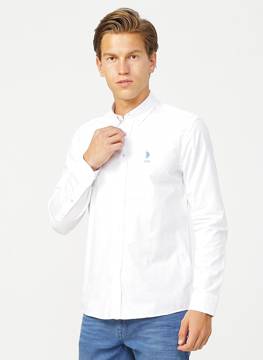 U.S. Polo Assn. Slim Fit Erkek Gömlek