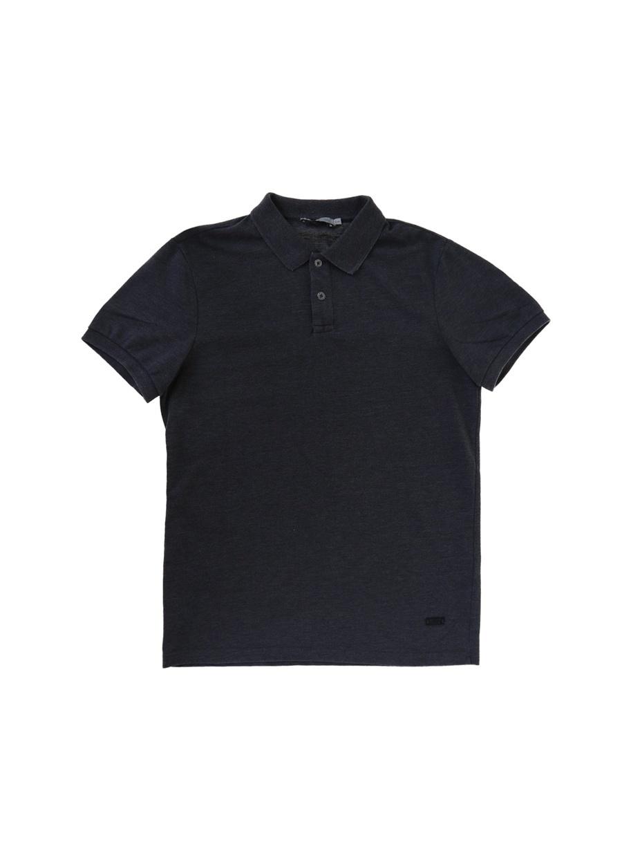 Lee Cooper Miless Antrasit Polo Yaka T-Shirt