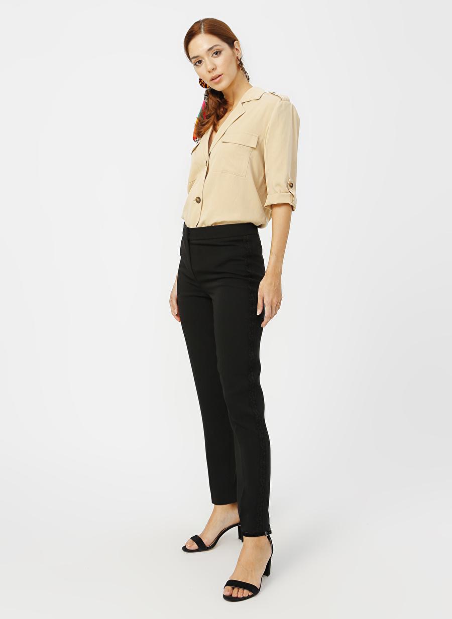 46 Siyah Naramaxx Pantolon Kadın Giyim