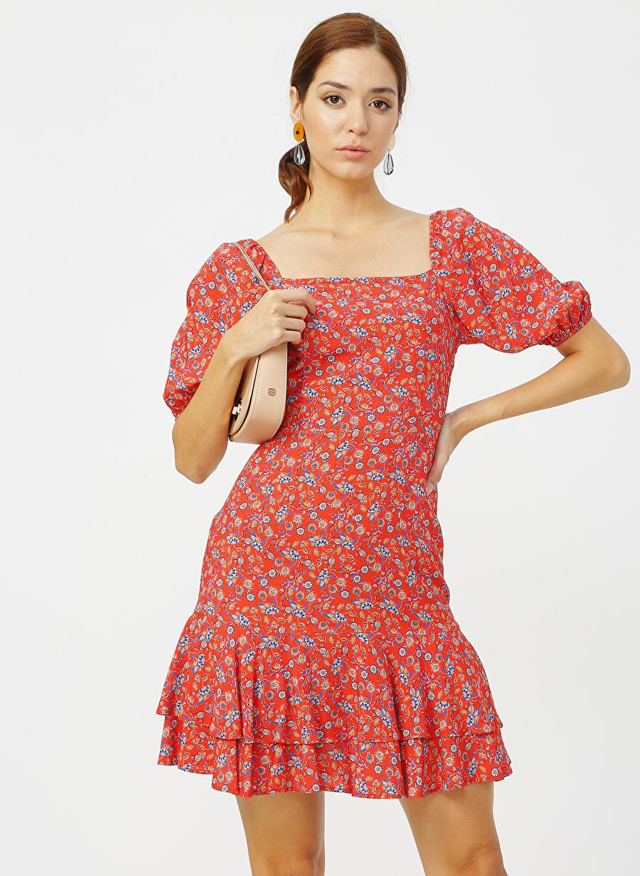 40 Kırmızı Random Elbise Kadın Giyim