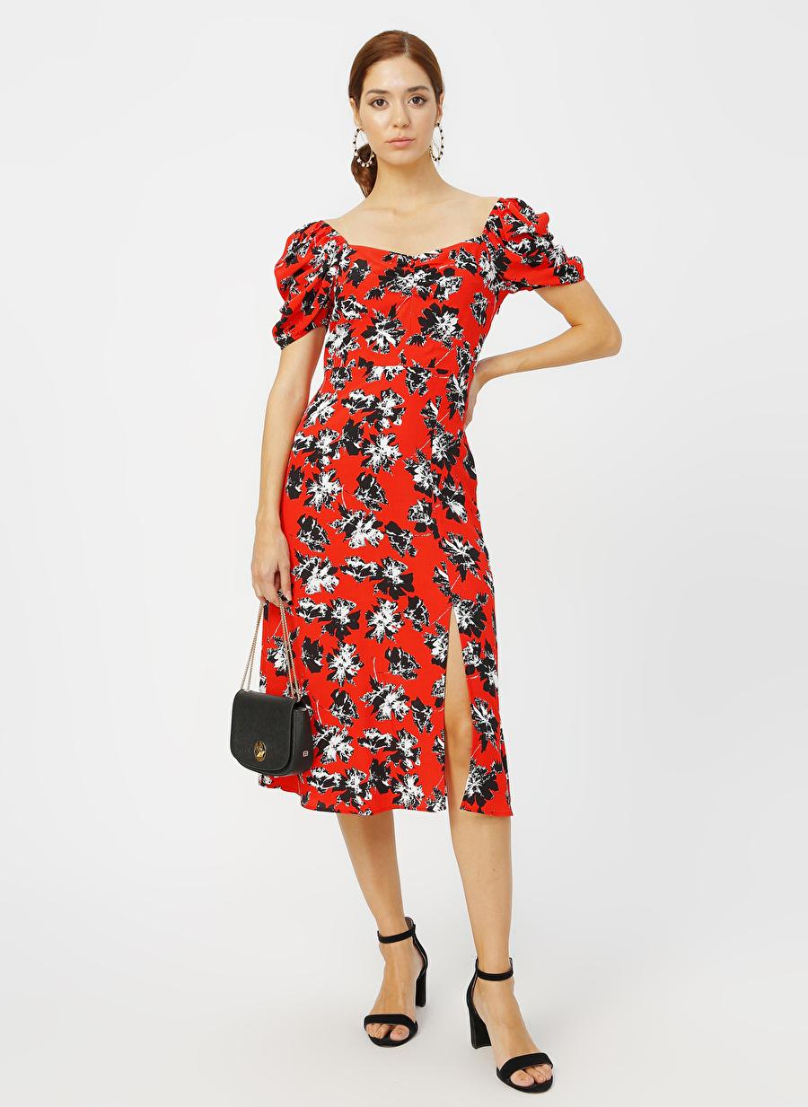 42 Kırmızı Random Elbise Kadın Giyim