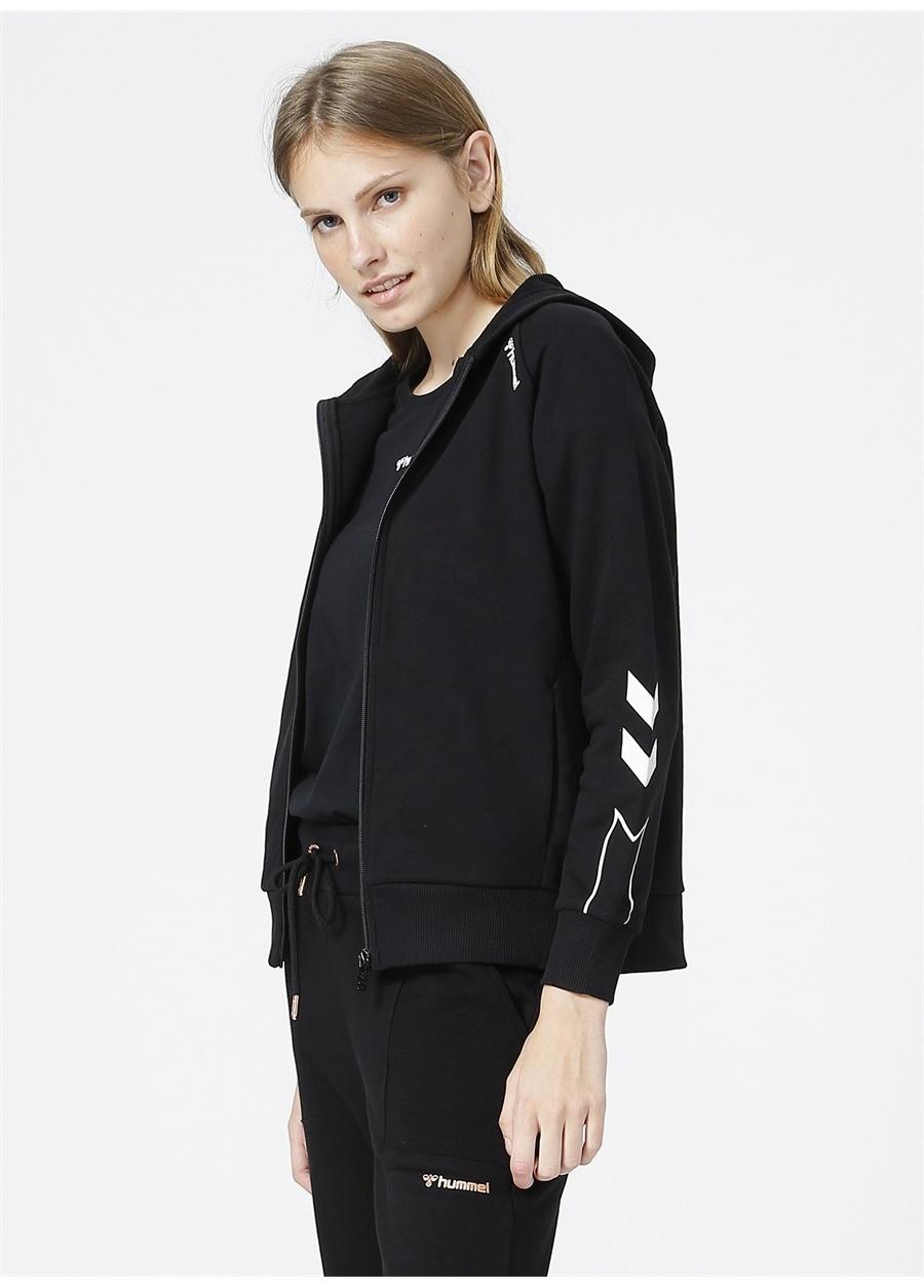 Hummel Siyah Kadın Zip Ceket