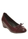 Cotton Bar Dolgu Topuk Ayakkabı