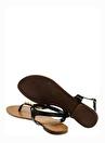 Cotton Bar Sandalet