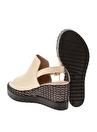 Queen Bee Dolgu Topuk Ayakkabı