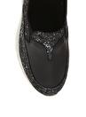 Penford Kadın Deri Siyah Düz Ayakkabı