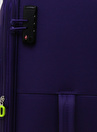Pierre Cardin Çekçekli Kumaş Valiz