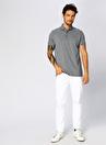Cotton Bar Polo T-Shirt