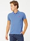 U.S. Polo Assn. Polo Yaka Açık Lacivert T-Shirt