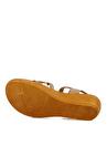 Greyder Bej Sandalet