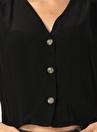 Quzu Siyah Bluz