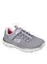 Skechers 302069L Summits Gri - Pembe Kız Çocuk Yürüyüş Ayakkabısı