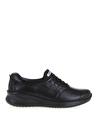 Forelli 54501-G Siyah Kadın Düz Ayakkabı