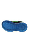 Skechers 401520N Illumi Siyah - Mavi - Yeşil Erkek Çocuk Yürüyüş Ayakkabısı