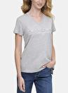 Dkny Jeans Hologram Logolu T-Shirt