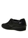 Forelli Siyah Düz Ayakkabı