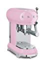 SMEG 50'S Style Retro Pembe ECF01PKEU Espresso Kahve Makinesi