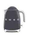 SMEG 50'S Style Retro KLF03GREU Barut Gri Kettle