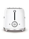 SMEG 50'S Style Retro TSF01WHEU Beyaz 2x Ekmek Kızartma Makinesi