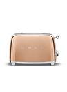 SMEG 50'S Style Retro TSF01RGEU Rose Gold 2x Ekmek Kızartma Makinesi