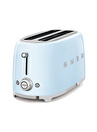 SMEG 50'S Style Retro TSF02PBEU Pastel Mavi 4x Ekmek Kızartma Makinesi