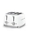 SMEG 50'S Style Retro TSF03WHEU Beyaz Ekmek Kızartma Makinesi