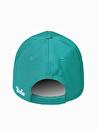 Ucla JOSHUA    Nakışlı Yeşil Erkek Şapka