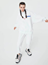 Twist TW6210091024002 Yuvarlak Yaka Uzun Kol  Beyaz Kadın Sweatshırt