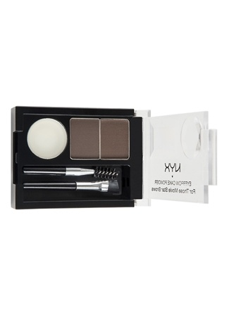 Professional Makeup Eyebrow Cake Powder Dk Brown/Brw Pudra NYX