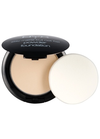 Stay Matte But Not Flat Pudra ivor Pudra NYX