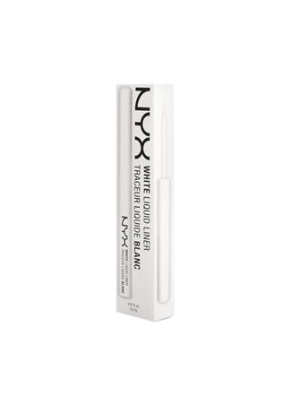 Professional Makeup White Liquid Liner - White Eyeliner NYX