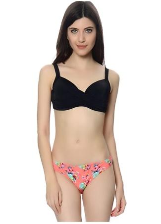 Çiçek Desenli Bikini Altı MinkPink