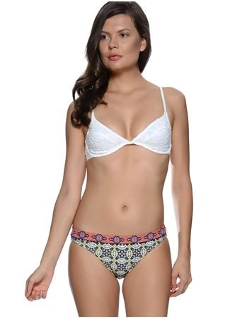 Etnik Desenli Bikini Altı MinkPink
