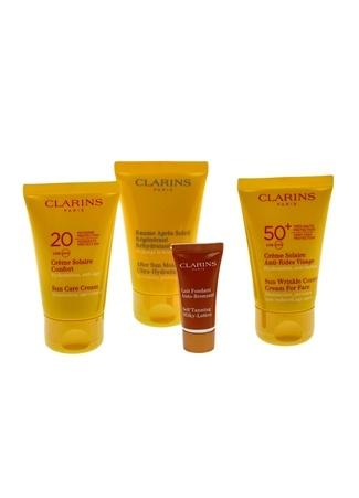 Clarins CLR Sun Coffret 16 Güneş Ürünü