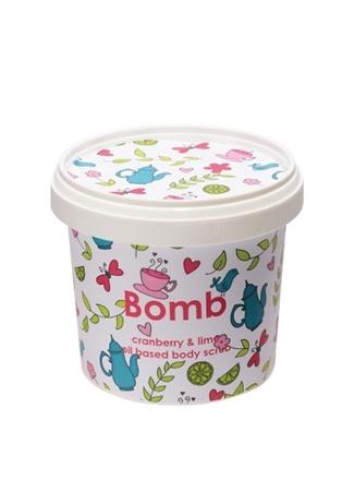 Cranberry Lime Scrub 365 ml Vücut Peelingi Bomb Cosmetics