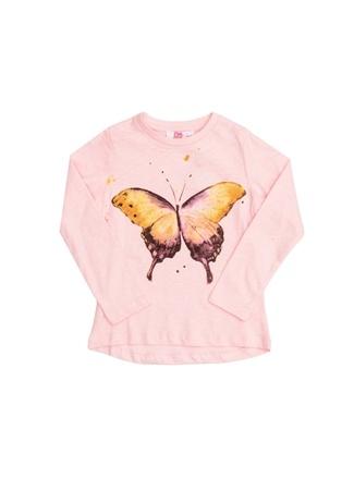 Kız Çocuk T-Shirt Pink&Orange