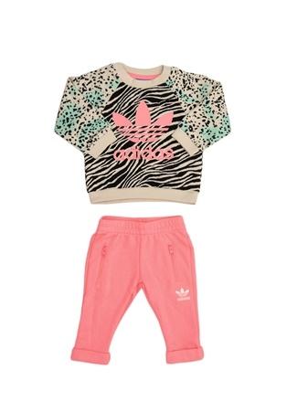 Kız Bebek Eşofman Takım Adidas