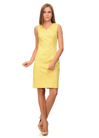 Naramaxx V Yaka Kolsuz Elbise