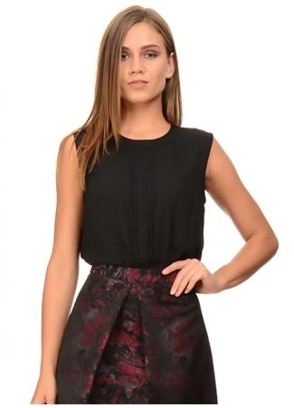 Siyah Kolsuz Bluz